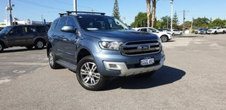 2017 Ford Everest UA Trend Blue Reflex 6 Speed Sports Automatic SUV.