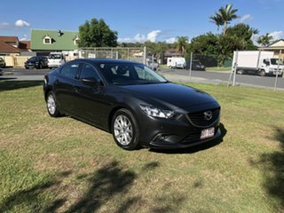 2013 Mazda 6 GJ1031 Touring SKYACTIV-Drive Grey 6 Speed Sports Automatic Sedan.