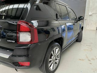 2014 Jeep Compass MK MY15 Limited CVT Auto Stick Black 6 Speed Constant Variable Wagon