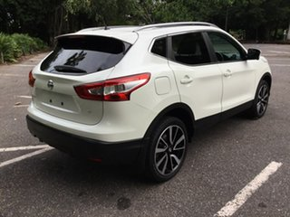 2017 Nissan Qashqai J11 TI White 1 Speed Constant Variable Wagon