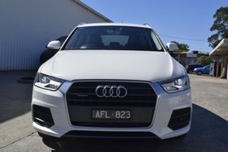 2015 Audi Q3 8U MY15 TFSI S Tronic Quattro Sport White 7 Speed Sports Automatic Dual Clutch Wagon.