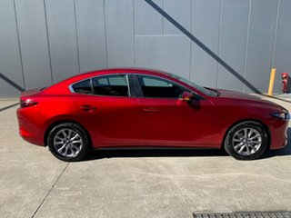 2020 Mazda 3 BP2S7A G20 SKYACTIV-Drive Pure Soul Red Crystal 6 Speed Sports Automatic Sedan.