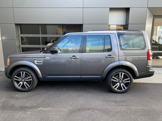 2013 Land Rover Discovery 4 Series 4 L319 MY13 V8 CommandShift Grey 6 Speed Sports Automatic Wagon