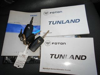 2014 Foton Tunland P201 White 5 Speed Manual Utility