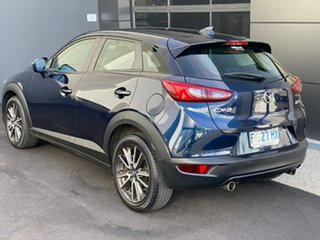 2016 Mazda CX-3 DK4W7A sTouring SKYACTIV-Drive i-ACTIV AWD Blue 6 Speed Sports Automatic Wagon