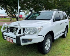 2011 Toyota Landcruiser VDJ200R MY10 GX White 6 Speed Sports Automatic Wagon