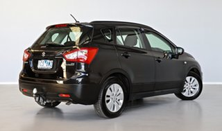 2014 Suzuki S-Cross JY GL Black 7 Speed Constant Variable Hatchback.