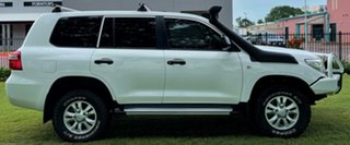 2011 Toyota Landcruiser VDJ200R MY10 GX White 6 Speed Sports Automatic Wagon.
