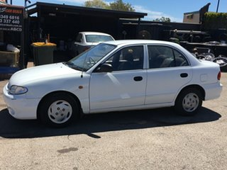 1997 Hyundai Excel X3 LX 4 Speed Automatic Sedan.