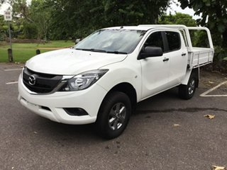 2016 Mazda BT-50 UR0YF1 XT 4x2 Hi-Rider White 6 Speed Sports Automatic Utility