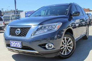 2015 Nissan Pathfinder R52 MY15 ST-L X-tronic 2WD Blue 1 Speed Constant Variable Wagon.