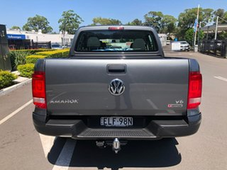 2020 Volkswagen Amarok 2H MY21 TDI550 4MOTION Perm Core Grey 8 Speed Automatic Utility