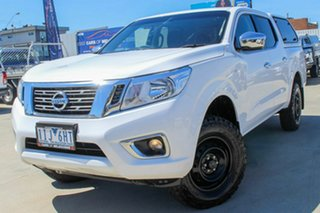 2016 Nissan Navara D23 RX White 7 Speed Sports Automatic Utility.