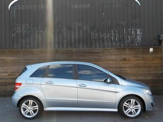 2010 Mercedes-Benz B-Class W245 MY10 B180 Blue 1 Speed Constant Variable Hatchback.