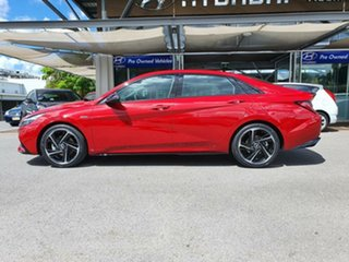 2020 Hyundai i30 CN7.V1 MY21 N Line D-CT Premium Fiery Red 7 Speed Sports Automatic Dual Clutch