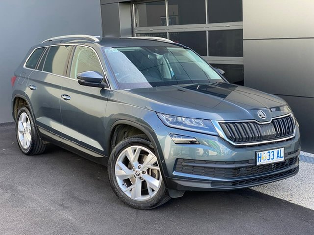 Used Skoda Kodiaq NS MY18 132TSI DSG Hobart, 2017 Skoda Kodiaq NS MY18 132TSI DSG Grey 7 Speed Sports Automatic Dual Clutch Wagon