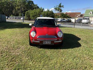 2003 Mini Hatch R50 MY03 Cooper Red 6 Speed Constant Variable Hatchback.