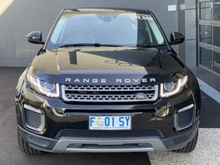 2016 Land Rover Range Rover Evoque L538 MY17 TD4 150 SE Black 9 Speed Sports Automatic Wagon.