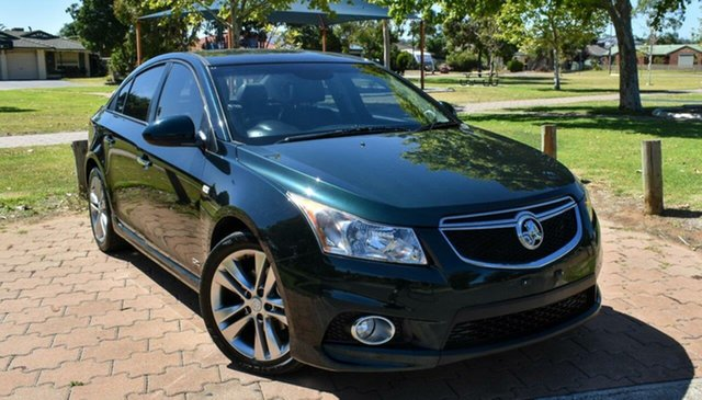 Used Holden Cruze JH Series II MY14 SRi Z Series Ingle Farm, 2014 Holden Cruze JH Series II MY14 SRi Z Series Green 6 Speed Manual Sedan