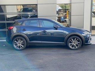2016 Mazda CX-3 DK4W7A sTouring SKYACTIV-Drive i-ACTIV AWD Blue 6 Speed Sports Automatic Wagon.