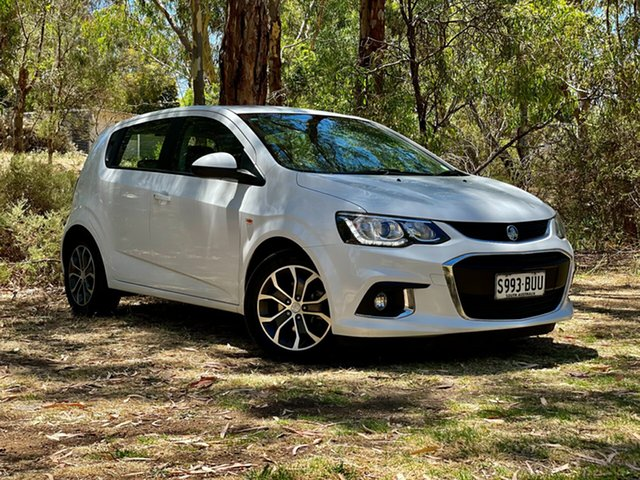 Used Holden Barina TM MY18 LS Reynella, 2017 Holden Barina TM MY18 LS White 6 Speed Automatic Hatchback