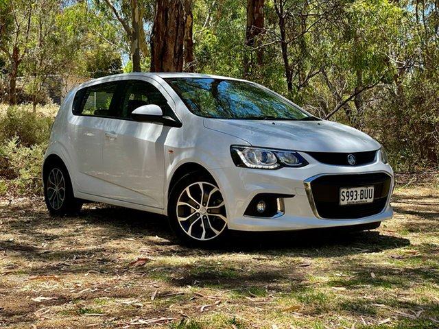 Used Holden Barina TM MY18 LS Reynella, 2017 Holden Barina TM MY18 LS Summit White 6 Speed Automatic Hatchback