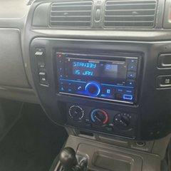 2003 Nissan Patrol GU II DX White 5 Speed Manual Cab Chassis