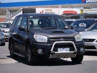 2005 Toyota RAV4 ACA23R CV Sport Black 4 Speed Automatic Wagon.
