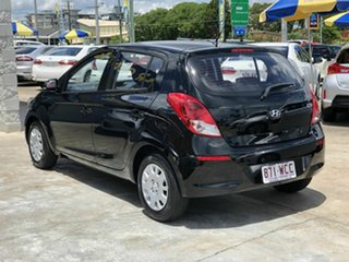 2014 Hyundai i20 PB MY15 Active Black 4 Speed Automatic Hatchback.