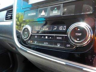 2012 Mitsubishi Outlander ZJ MY13 LS 2WD Black 6 Speed Constant Variable Wagon