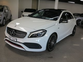2016 Mercedes-Benz A-Class W176 807MY A250 D-CT 4MATIC Sport White 7 Speed.