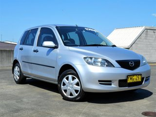 2003 Mazda 2 DY10Y1 Maxx Silver 4 Speed Automatic Hatchback.