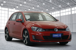 2014 Volkswagen Golf VII MY14 GTi Tornado Red 6 Speed Manual Hatchback.