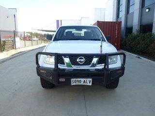 2011 Nissan Navara D40 ST-X White Manual Utility.