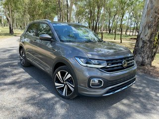 2020 Volkswagen T-Cross C1 MY21 85TSI DSG FWD Style Limestone Grey 7 Speed.