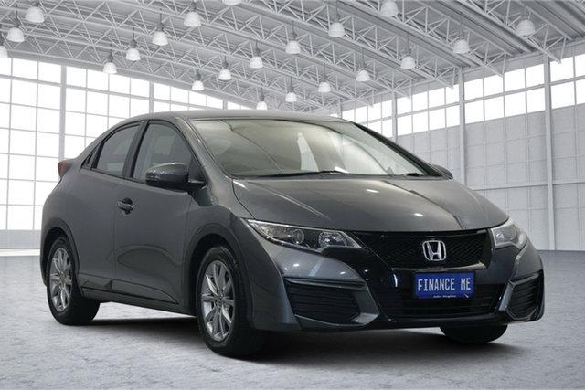 Used Honda Civic 9th Gen MY15 VTi-S Victoria Park, 2015 Honda Civic 9th Gen MY15 VTi-S Grey 5 Speed Sports Automatic Hatchback