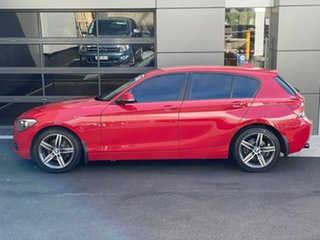 2012 BMW 118i F20 118i Red 8 Speed Sports Automatic Hatchback