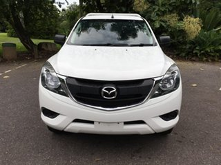 2016 Mazda BT-50 UR0YF1 XT 4x2 Hi-Rider White 6 Speed Sports Automatic Utility.