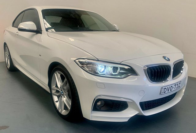 Used BMW 2 Series F22 220i Sport Line Newcastle West, 2017 BMW 2 Series F22 220i Sport Line White 8 Speed Sports Automatic Coupe