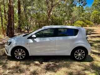 2017 Holden Barina TM MY18 LS Summit White 6 Speed Automatic Hatchback.
