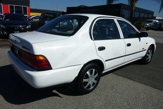 1995 Holden Nova LG SLX White 5 Speed Manual Sedan