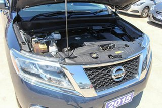 2015 Nissan Pathfinder R52 MY15 ST-L X-tronic 2WD Blue 1 Speed Constant Variable Wagon
