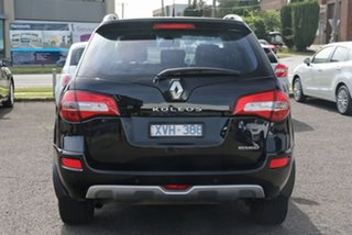 2010 Renault Koleos H45 Dynamique Black 1 Speed Constant Variable Wagon.