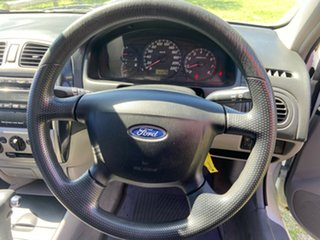 2001 Ford Laser KN GLXi White 4 Speed Automatic Sedan