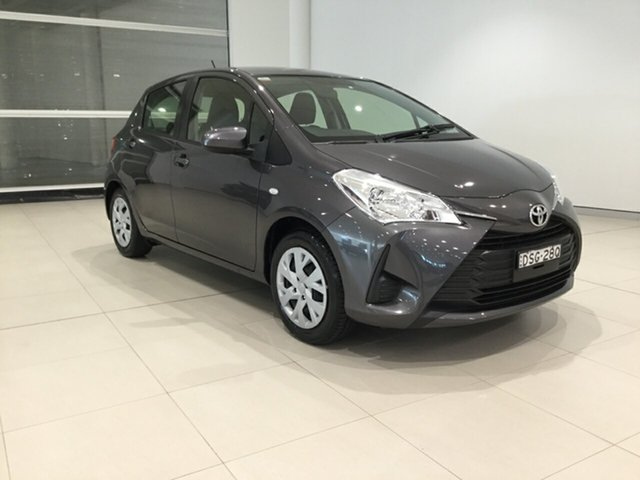 Used Toyota Yaris NCP130R Ascent Alexandria, 2017 Toyota Yaris NCP130R Ascent Grey 4 Speed Automatic Hatchback