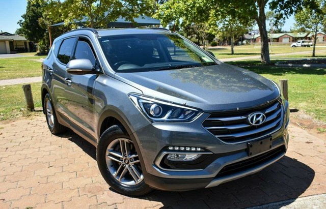 Used Hyundai Santa Fe DM3 MY17 Active Ingle Farm, 2017 Hyundai Santa Fe DM3 MY17 Active Grey 6 Speed Sports Automatic Wagon