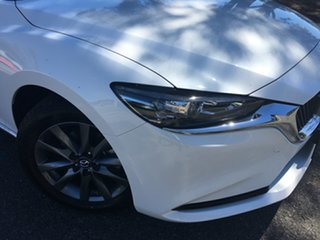 2020 Mazda 6 GL1033 Sport SKYACTIV-Drive White Pearl 6 Speed Sports Automatic Sedan.