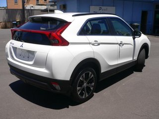 2019 Mitsubishi Eclipse Cross YA MY19 ES 2WD White 8 Speed Constant Variable Wagon.