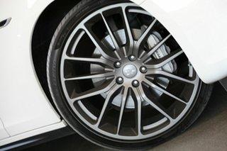 2016 Maserati Ghibli M157 MY16 White 8 Speed Sports Automatic Sedan.