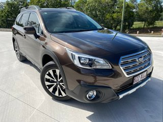 2017 Subaru Outback B6A MY17 2.5i CVT AWD Premium Brown 6 Speed Constant Variable Wagon.